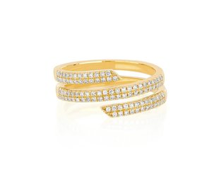 EF Collection Diamond Swirl Ring EF17
