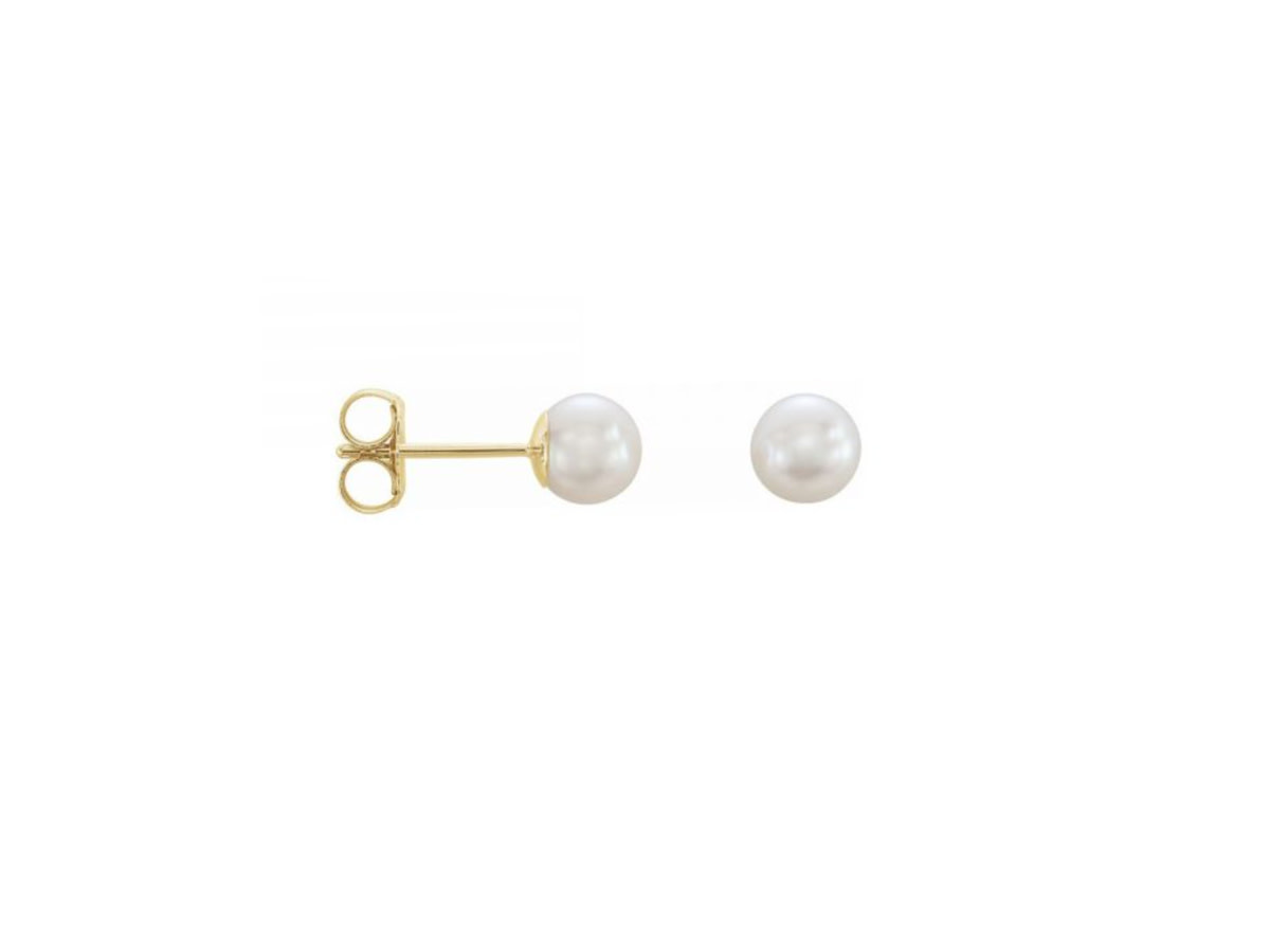 Trabert Goldsmiths Akoya Pearl Earrings