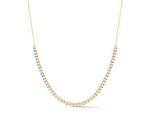 Dana Rebecca Ava Bea Diamond Tennis Yellow Gold  Necklace DR54