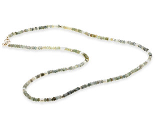 Trabert Goldsmiths Natural Sapphire and Pearl Beaded Necklace E3101