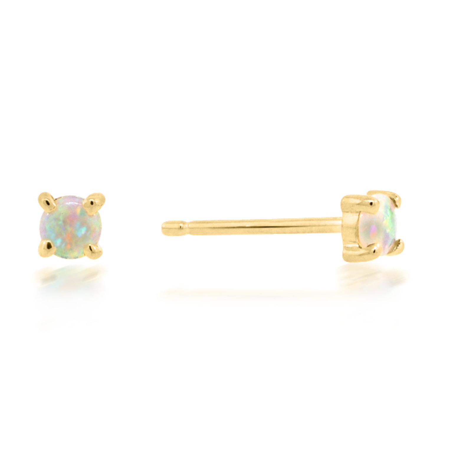 Trabert Goldsmiths Mini Opal Earrings