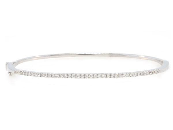 Luvente Hinged Diamond Bracelet
