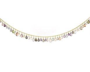 Trabert Goldsmiths Sapphire Briolette Necklace KW52