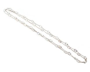 Trabert Goldsmiths Rainbow Moonstone Necklace KW46
