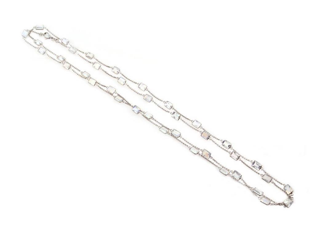 Trabert Goldsmiths Rainbow Moonstone Necklace