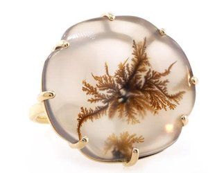 Jamie Joseph Jewelry Designs Dendritic Agate Statement Ring JD96