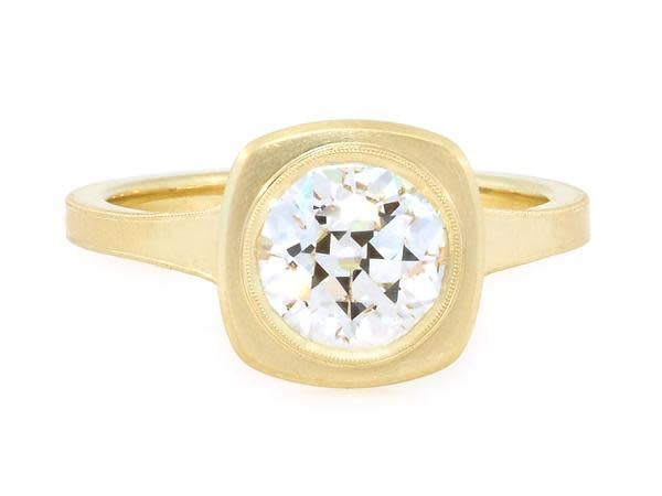 Erika Winters 1.51ct JVS2 Old European Diamond Jin Ring