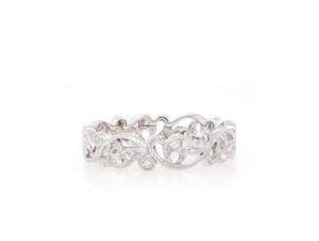 Beverley K Collection Diamond Vine Band AB435