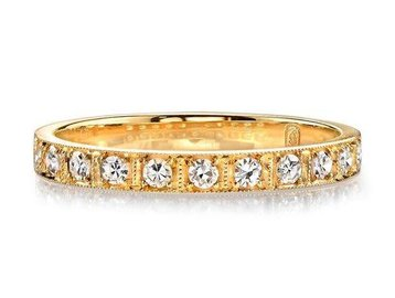 Single Stone Half Eternity Diamond Hadley Ring SI127