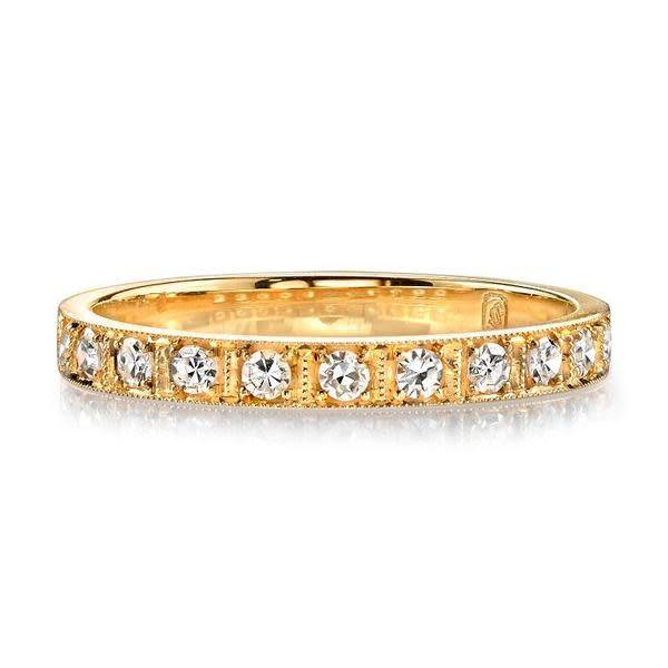 Single Stone Half Eternity Diamond Hadley Ring