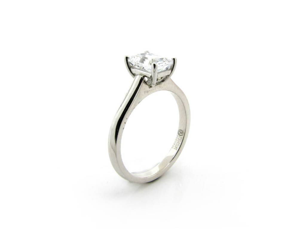 Flush Fit 4-Prong Setting for Emerald