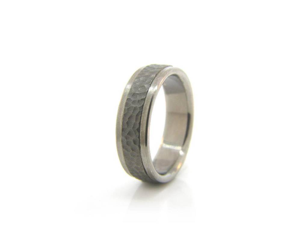 Textured Titanium Band