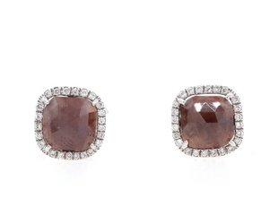 Liven Brick Diamond Earrings LN9