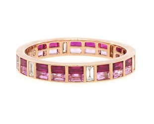 Trabert Goldsmiths Ruby and Pink Sapphire Dia GAM18