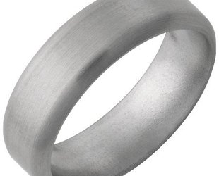 Jewelry Innovations Titanium Half Round Band JI37
