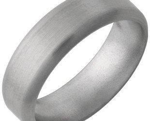 Jewelry Innovations Titanium Half Round Band JI37
