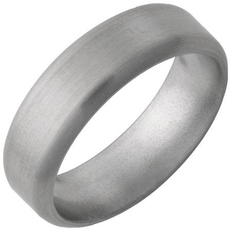 Jewelry Innovations Titanium Half Round Band