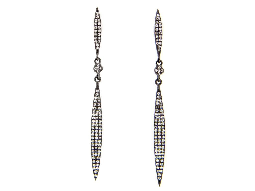 Dilamani Diamond Spear Earrings