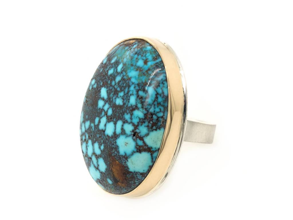 Jamie Joseph Jewelry Designs Mountain Turquoise Statement Ring
