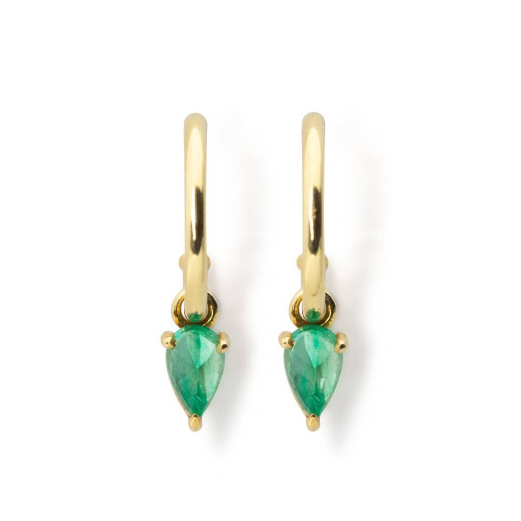 ILA 0.40ct Kinsley Emerald Drop Earrings