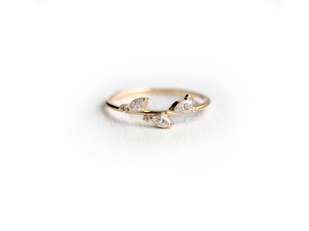 Melanie Casey By the Bushel Diamond Ring