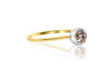 23da7d2a2834ca 0.27ct Bezel Set Diamond Ring E698