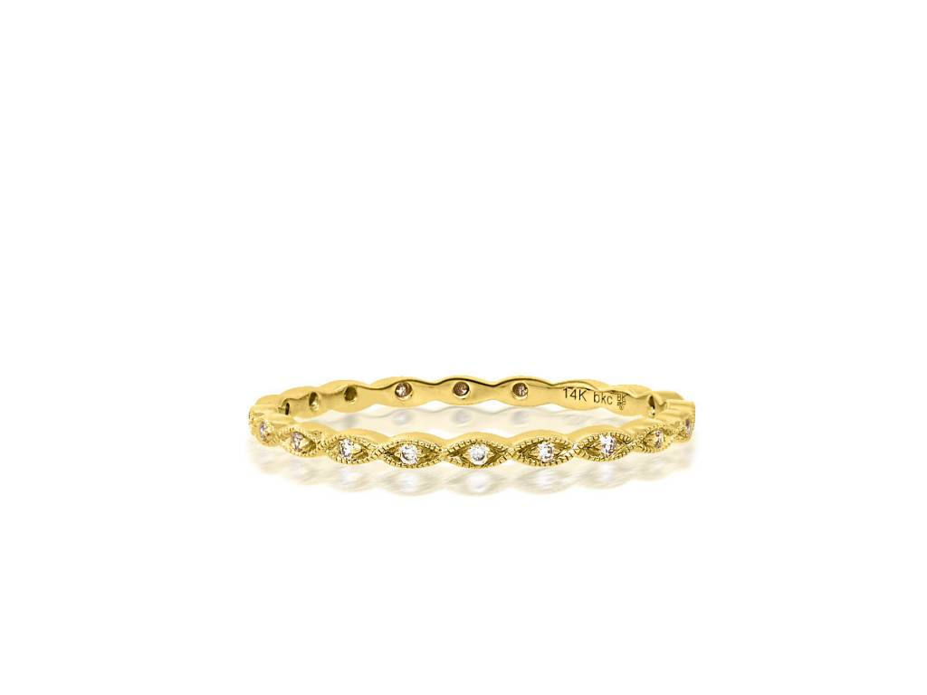 Beverley K Collection Delicate Marquise Diamond Eternity Band