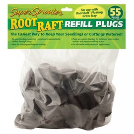 Super Starter Super Sprouter Root Raft Replacement Plugs 55 ct (20/Cs)