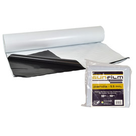 Sunfilm Sunfilm Black & White Panda Film 10 ft x 10 ft Folded & Bagged