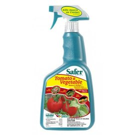 Safer Safer Brand Tomato and Vegetable Insect Killer RTU, qt
