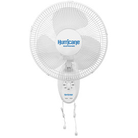 Hurricane Supreme Oscillating Wall Mount Fan 12 in (63/Plt)