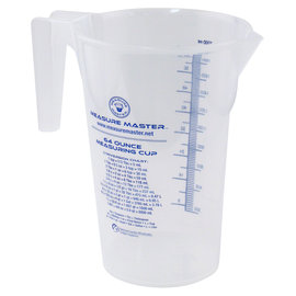 Measure Master Measure Master Graduated Round Container 64 oz / 2000 ml
