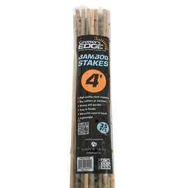 Growers Edge Grower's Edge Natural Bamboo 4 ft - 25/Bag (20 Bags/Bundle)