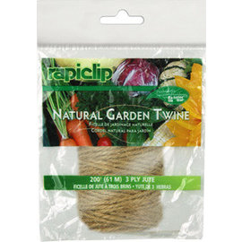 RapiClip Natural Garden Twine 200'
