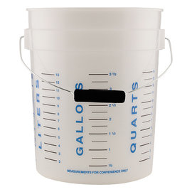 Measure Master Measure Master Graduated Measuring Bucket 5 Gallon