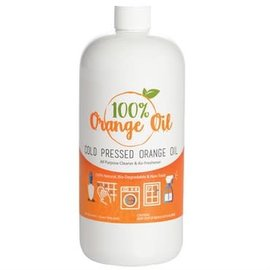 Sanco SANCO ORANGE OIL 100% COLD PRESSED QUART