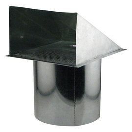 Ideal Air Ideal-Air Screened Wall Vent 10 in