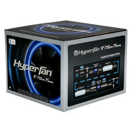 Hyper Fan Hyper Fan 8 in Digital Mixed Flow Fan 710 CFM