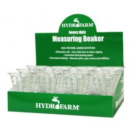 Hydrofarm Hydrofarm Measuring Beaker, case of 12
