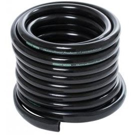 "Active Aqua 1/2"" ID Black Tubing 25'"
