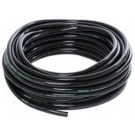 "Active Aqua 1/2"" ID Black Tubing 50'"
