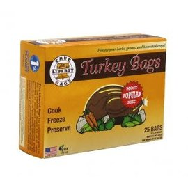True Liberty Bags True Liberty Turkey Bags, 3 gallon pack of 25