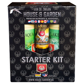 House & Garden House and Garden Aqua Flakes Starter Kit