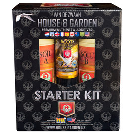 House & Garden House and Garden Soil A and B Starter Kit