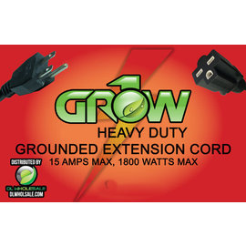 Grow1 Grow1 240V Extension Cord 16 Gauge 15'
