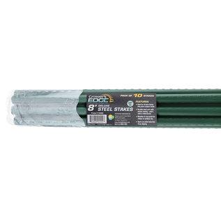 Growers Edge Grower's Edge Deluxe Steel Stake 8 Ft 3/4 in Diameter