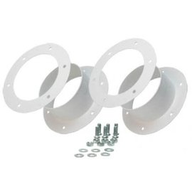 "Active Air Dual 4"" Flange Kit"