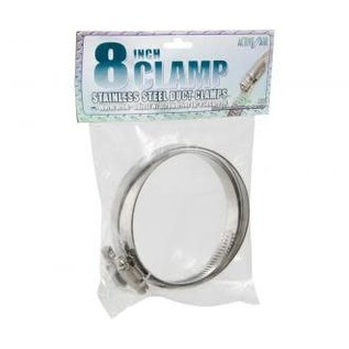 """Active Air Active Air Stainless Steel Duct Clamps, 8"""""""