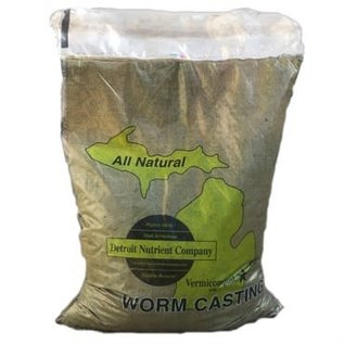Detroit Nutrient Co. Detroit Nutrient Co. VERMICOMPOST WORM SOIL 25 Lb