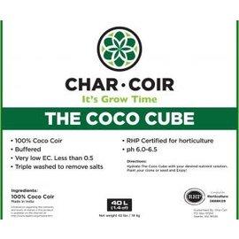 Char Coir Char Coir Coco Cube RHP Certified Coco Coir, 2.25 L, case of 32